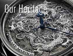 silve time piece (Our Heritage)